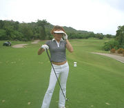 私をゴルフに連れて行って~~♪