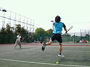 西区、佐伯区で平日テニス