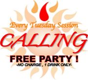 Calling  -every tuesday party-