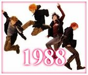 【1988年】GLAY【生まれ】