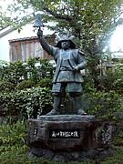 真田幸村の銅像の会