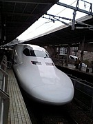 東京名古屋間を行き来する人達