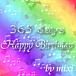 365 days HAPPY BIRTHDAY