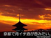 京都で月イチ酒が呑みたい。