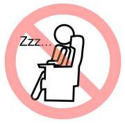 飛行機で眠れません