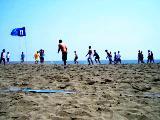 ビーチフットボール