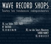 WAVE Record Shops @ France