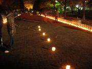LOVE CANDLE 2007 at 草加公園