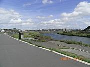 鶴見川でインライン