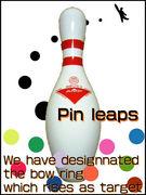 「Pin leaps」