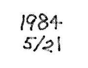 1984年5月21日生まれ