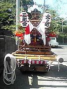 尼崎市の北之町、西三のだんじり