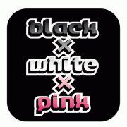 白♥黒♥ピンク