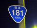 国道181号線