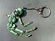 骸骨キーホルダー