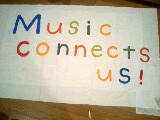 「Music connects us!」@ぇり