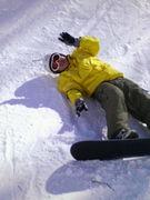 平日に雪山に滑りに行こう。深谷