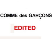 COMME des GARCONS EDITED