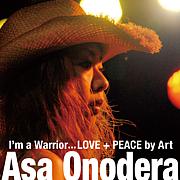 Asa with LOVE+PEACE♪