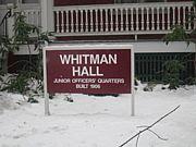 Whitman Aside