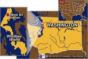 Whidbey Island!島!