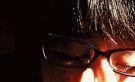 もさい黒髪+黒縁メガネ