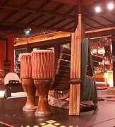 タイの田舎の音楽と踊り