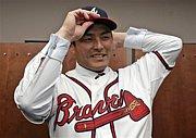 川上憲伸 ブレーブス (Braves)