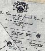 ブラック一族をたたえる。