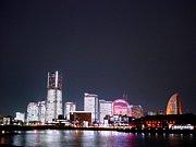 横浜桜木町みなとみらいの風景