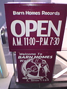 BARNHOMES RECORDS