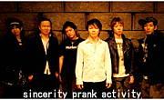 sincerity prank activity