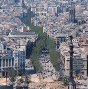 ランブラス通り☆バルセロナ