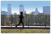 大濠公園でゆったりジョギング