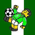 ナイジェリアサッカー野郎