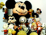 ANTIQUE CHARACTER TOYs/ DOLLs