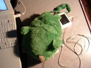 iPodはモリゾーに。。