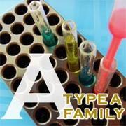 家族全員A型。