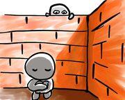 心に壁がある