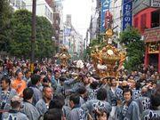 中野の祭と神輿