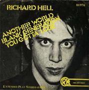 richard hell リチャード・ヘル