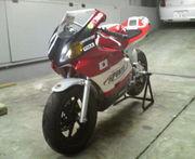 2009鈴鹿ミニモト4耐へ。
