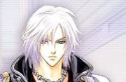 銀の髪の彼