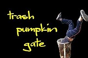 TRASH PUMPKIN GATE