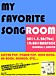 MY FAVORITE SONGROOM