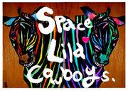 """SPACE LILA COWBOYS"""
