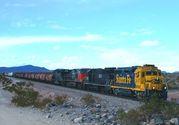 AMTRAKと貨物列車