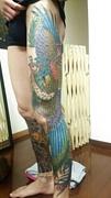 日本の刺青でオシャレ♪