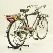 フラッシャー付自転車