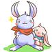 寂しがり屋の強がりウサギ